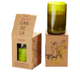 Munio Candela - Villa collection - Vinná láhev 220 ml