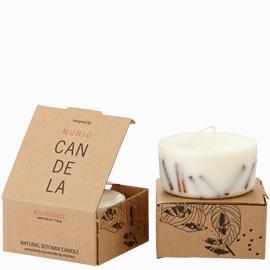 Munio Candela Naturella collection - skořice 220 ml