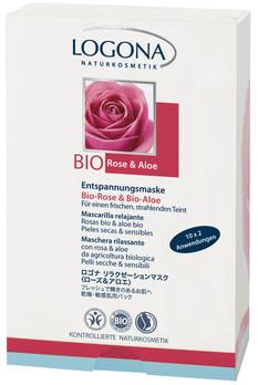 LOGONA Relaxační maska Bio Růže & Bio Aloe