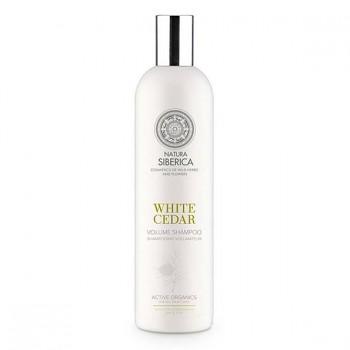 """NATURA SIBERICA Šampon pro větší objem """"Bílý cedr"""" 400ml"""