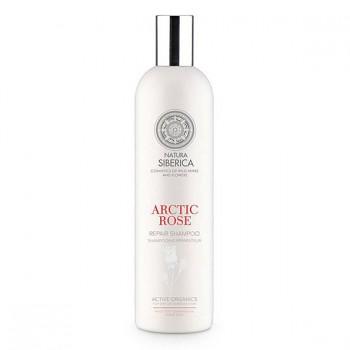 NATURA SIBERICA Regenerační šampon Arktická růže 400ml