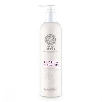 """NATURA SIBERICA Relaxační sprchový gel """"Květiny tundry"""" 400ml"""