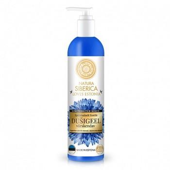 NATURA SIBERICA Loves Estonia Chrpa Osvěžující sprchový gel 400ml