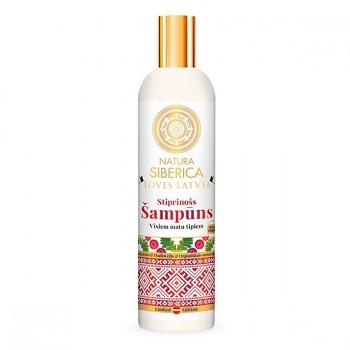 NATURA SIBERICA Loves Latvia Zpevňující šampón 400ml