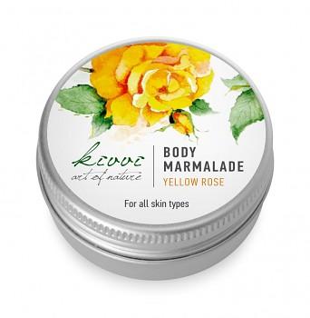 Kivvi Tělová marmeláda Žlutá růže MINI 15 ml EXP 12 17 PLNÉ BALENÍ DÁREK ZDARMA