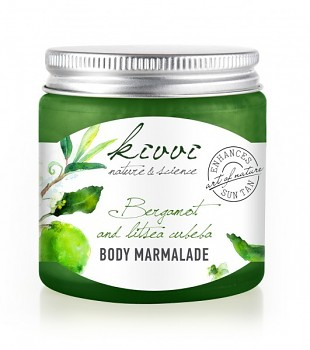 Kivvi Tělová marmeláda Bergamot a litsea cubeba 120 ml EXP 11 17 PLNÉ BALENÍ DÁREK ZDARMA