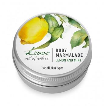 Kivvi Tělová marmeláda Citron a máta MINI 15 ml EXP 09 17 DÁREK ZDARMA