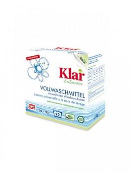 KLAR Prací prášek s extraktem z mýdlových ořechů 1,1 kg