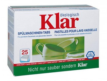 KLAR Tablety do myčky 25x20g