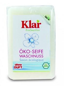KLAR Tuhé mýdlo na ruce z mýdlových ořechů 100g