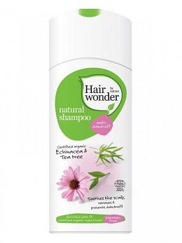 Hairwonder Přírodní šampon proti lupům s BIO echinaceou & tea tree 200 ml