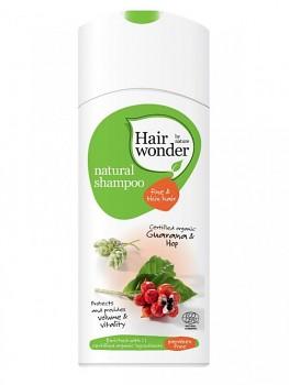 Hairwonder Přírodní šampon pro jemné vlasy s BIO guaranou & chmelem 200 ml