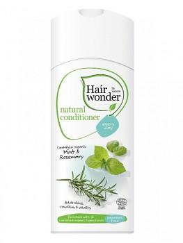 Hairwonder Přírodní kondicionér pro každodenní mytí s BIO mátou & rozmarýnem 200 ml