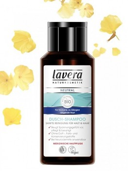 Lavera Neutral Přírodní sprchový šampon na tělo a vlasy BIO 200 ml