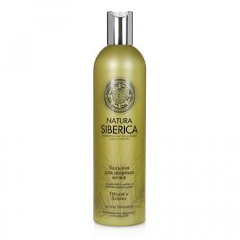 Natura Siberica Kondicionér pro pro mastné vlasy «Objem a bilance»