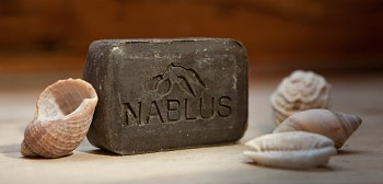 Nablus Olivové přírodní mýdlo s bahnem z Mrtvého moře 100 g