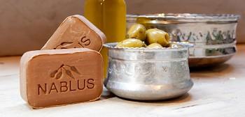 Nablus Olivové přírodní mýdlo 100 g