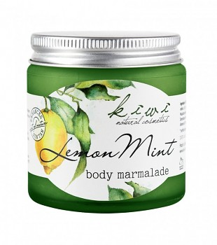 Kivvi Tělová marmeláda Citron a máta 120ml VÝPRODEJ EXP 12 17