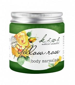 Kivvi Tělová marmeláda Žlutá růže 120 ml