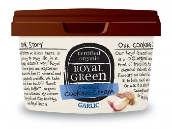 ROYAL GREEN BIO kokosový olej bez vůně ČESNEK 250 ml