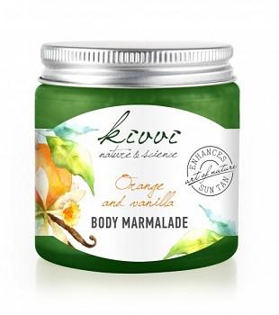 Kivvi Tělová marmeláda Pomeranč a vanilka 120 ml