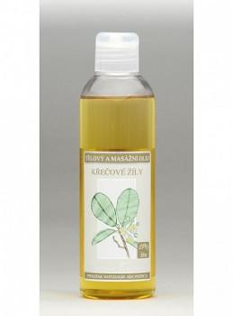 Nobilis Tělový a masážní olej Křečové žíly 200 ml
