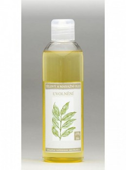 Nobilis Tělový a masážní olej Uvolnění 200ml