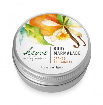 Kivvi Tělová marmeláda Pomeranč a vanilka MINI 15 ml