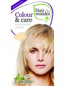 Hairwonder Přírodní dlouhotrvající barva BIO VELMI SVĚTLÁ BLOND 9