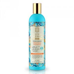 NATURA SIBERICA Rakytníkový šampón pro normální a suché vlasy 400 ml