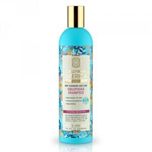 NATURA SIBERICA Rakytníkový šampón pro normální a mastné vlasy 400 ml
