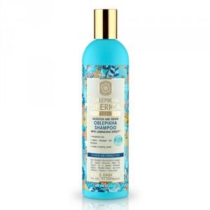 NATURA SIBERICA Rakytníkový šampón pro poškozené vlasy 400 ml