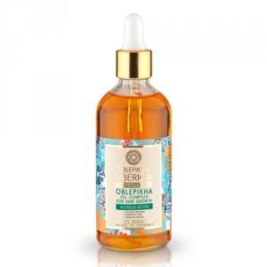 NATURA SIBERICA Rakytníkový olej pro růst vlasů 100ml