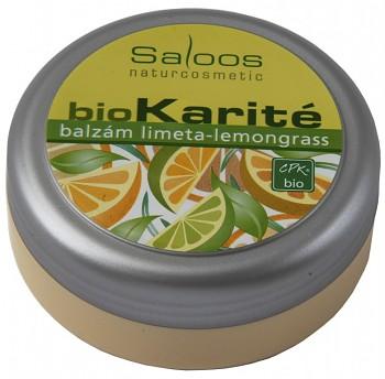 SALOOS Bio Karité balzám Limeta-lemongrass 50 ml