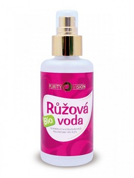 PURITY VISION Růžová voda 100 ml