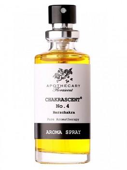 FLORASCENT Aroma sprej Čtvrtá čakra 15ml