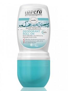 LAVERA Basis sensitiv Kuličkový deodorant BIO 50ml