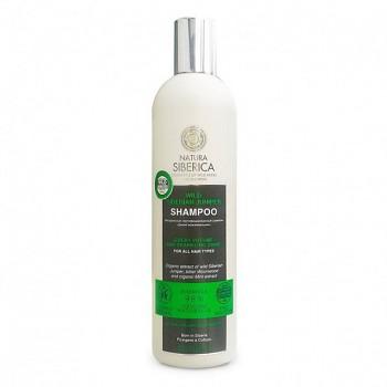 """NATURA SIBERICA Šampon pro všechny typy vlasů """"Divoký jalovec"""" 400 ml"""
