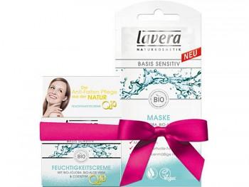 LAVERA Basis sensitiv Hydratační krém Q10 50ml + Maska Q10 10ml