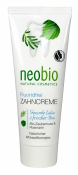 NEOBIO Zubní krém Bio-Vilín & Rozmarýna 75 ml