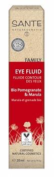 SANTE FAMILY Oční fluid Bio Granátové jablko & Marula