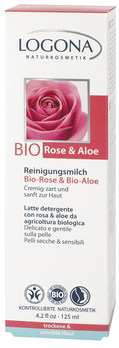 LOGONA Čistící a odličovací mléko Bio Růže & Aloe