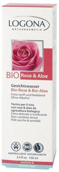 LOGONA Pleťové tonikum bez alkoholu Bio Růže
