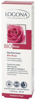 LOGONA Noční krém Bio Růže
