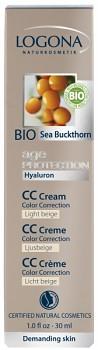 LOGONA Age Protection CC Krém 30ml světle béžová