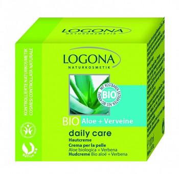 LOGONA Daily Care Pleťový a tělový krém Bio Aloe & Verbena, 150 ml