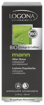 LOGONA Mann Voda po holení Bio Gingko + Kofein