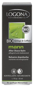 LOGONA Mann Balzám po holení Bio Gingko + Kofein