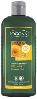 LOGONA Šampon pro zvětšení objemu vlasů Pivo-Med 250ml
