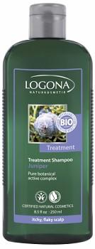 LOGONA Šampon proti lupům Jalovcový olej